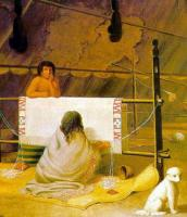 8Paul Kane Salish woman weaving 1848.jpg